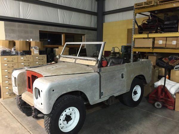 1973 Land Rover after 2