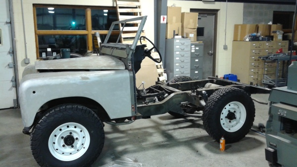 1973 Land Rover - phase 2